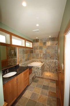 small soaking tub shower combo. Soaking Tub and Open Shower  traditional bathroom dc metro Stohlman Kilner Best 25 Small soaking tub ideas on Pinterest Tiny