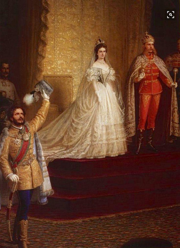 Francisco José y Elisabeth emperadores de Austria y Hungría