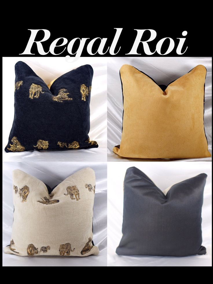 REGAL ROI Luxury Bedding Living Room Decor Decorative Accent Pillow decor Throw Pillows SIZE 16x16 Handmade By R. MarcellCOLLECTION by RMarcellCollections on Etsy