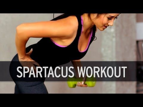 Spartacus Workout Today on XHIT we've got a full body, Spartacus inspired workout designed to burn unwanted fat. Follow along as fitness trainer Kelsey Lee shows you how to tone your whole body—from your legs all the way up through your upper body.