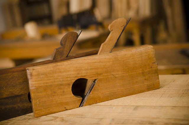 Antique wood planes: Rabbet planes