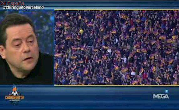 """Roncero: """"Felicito al árbitro. Ha hecho hoy de Messi"""""""