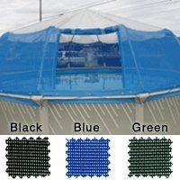 round complete screen dome kit for aboveground pool 12 panels - Above Ground Pool Privacy Screen