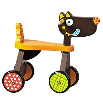 Ebulobo, Louloup Wolf Ride On, Wooden Toys, Toddler Ride On Toys, Baby Toys…
