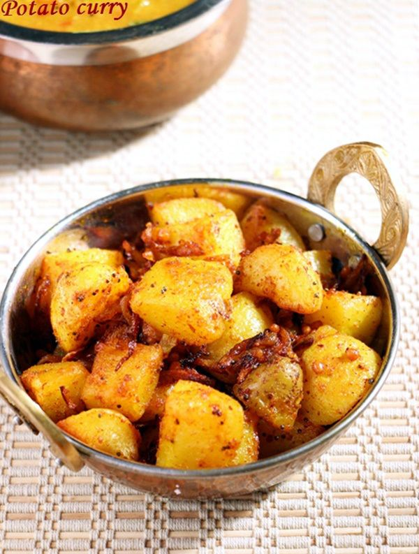 New post} Potato curry recipe: Crispy and spicy potato curry to serve ...