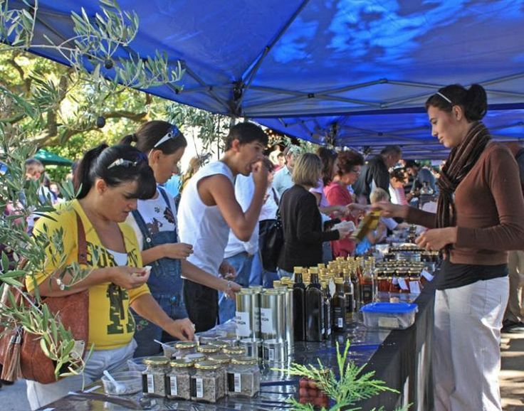 Riebeeck Valley Olive Festival. Held once a year, it's a day drive out of Cape Town