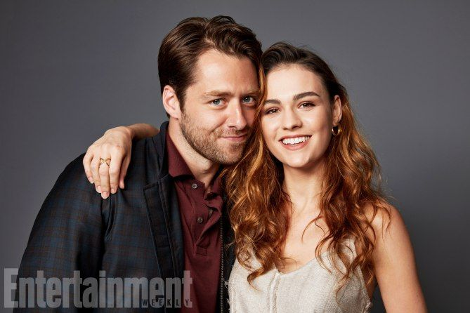 "Comic-Con 2017: Exclusive Portraits From EW's Studio | Richard Rankin and Sophie Skelton at SDCC 2017 promoting Outlander Season Three ""Voyager"" on Starz"
