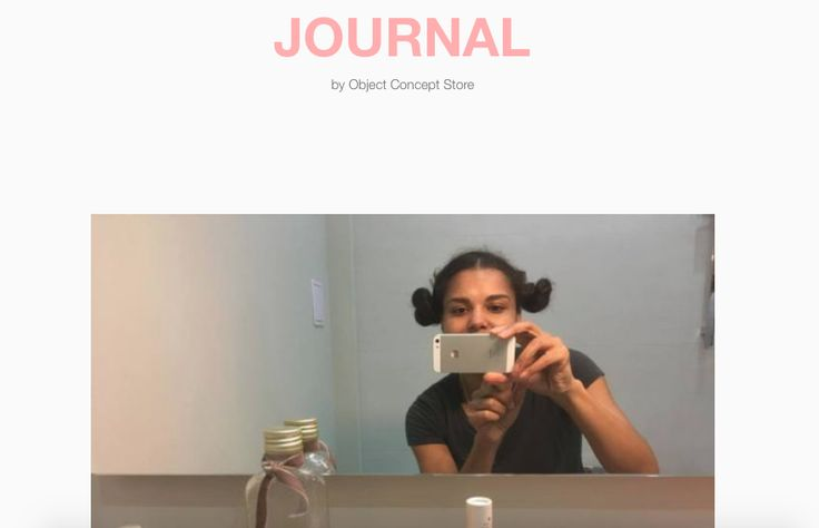 beauty routine by Natalie Perkof