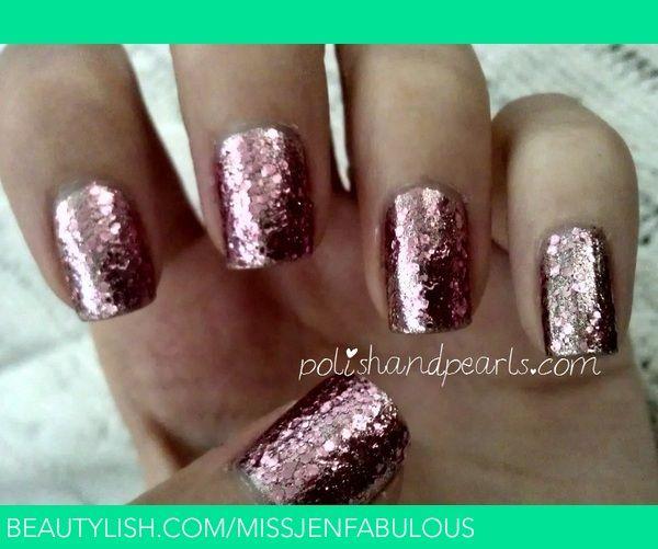 Rose Gold Nails | MissJenFabulous F.'s (missjenfabulous) Photo | Beautylish