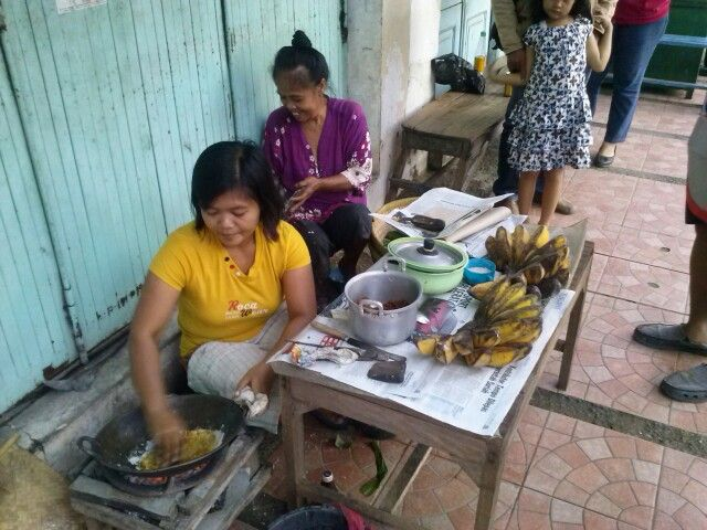 Penjual kerak pisang@indramayu