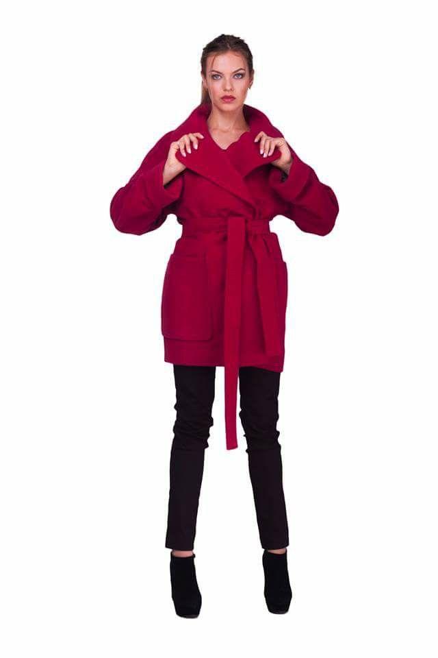 Красное пальто Lilo