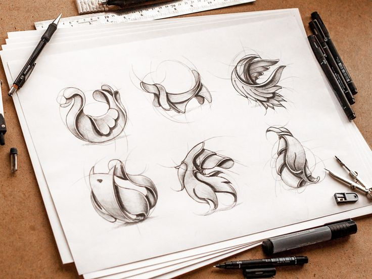 Sketches of animals by Ink Ration