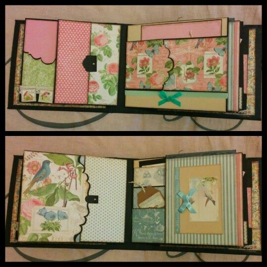 These are page 2 and 3 of my Botanical tea mini album by Graphic 45