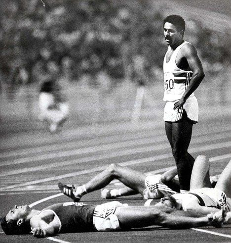 Daley Thompson - picture says it all
