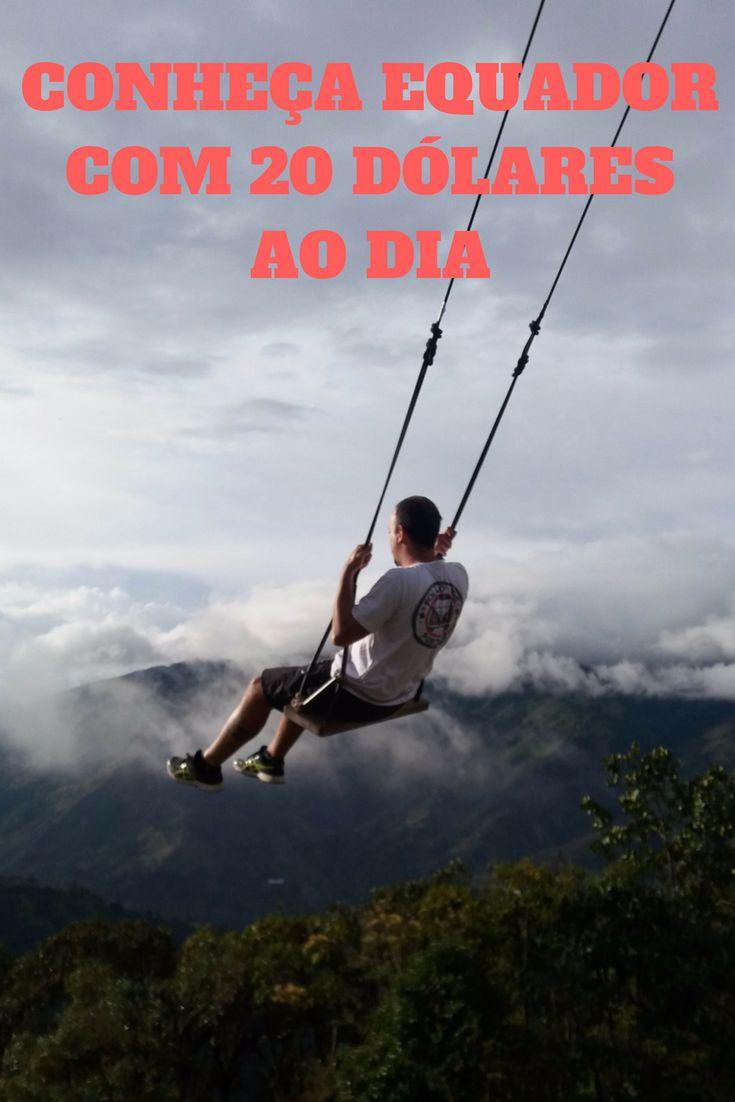 Venha na viagem do Portuga, 20 dólares por dia, durante 05 meses. Na foto o belo balanço do fim do mundo.