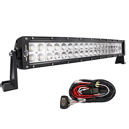 103 best amazon mictuning led light bar images on pinterest mictuning 22 120w curved led work light bar combo off road lamp wiring kit automotive led dash lights led offroad lights led trailer lights mozeypictures Choice Image