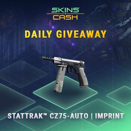StatTrak CZ75-Auto | Imprint Giveaway via http://ift.tt/2tgP18r sweepstakes IFTTT reddit giveaways freebies contests