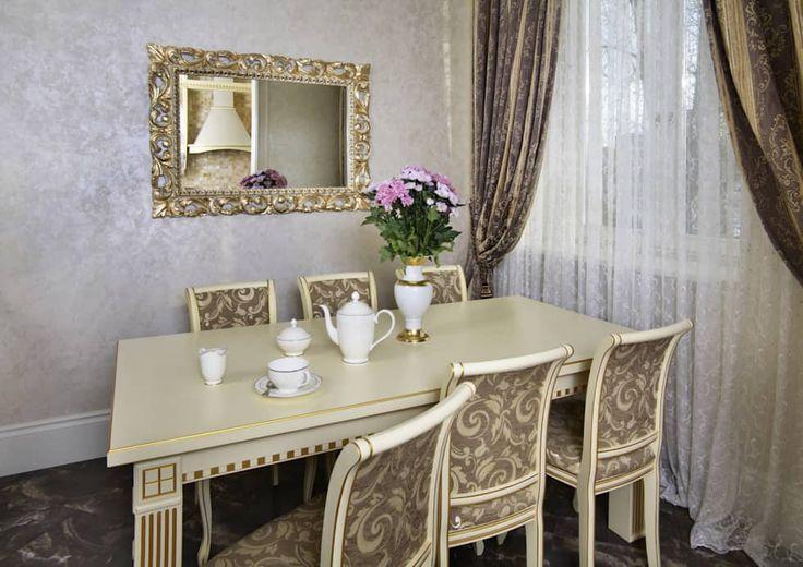 Дизайн интерьера 3-х комнатной квартиры на ул. Дорогомиловская: Столовые комнаты в . Автор - Дизайн бюро Оксаны Моссур