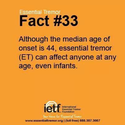 Essential Tremor (ET) facts