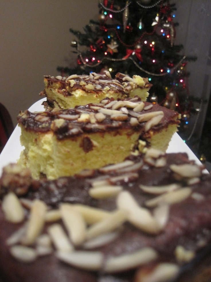 Przepis na sernik świąteczny z migdałami