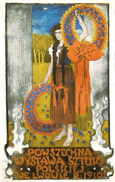 Jozef Mehoffer – Contemporary Art Exhibition (1910)