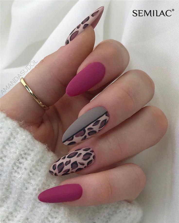 Mar 16, 2020 – Über 100 trendige Matte Nails Designs Inspirations 2019 – # – Über 100 trendige Matte Nails Designs Inspi…