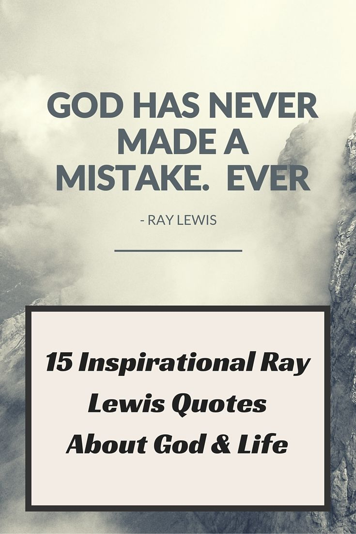 ray lewis quotes about god