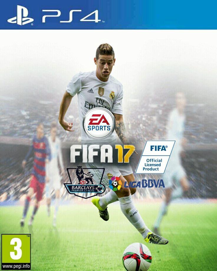 #PIcsArt FIFA 17 Covers James Rodrlgel