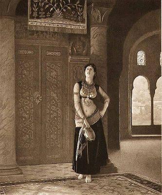 Jean-Léon Gérôme, Ghawazee Dancer