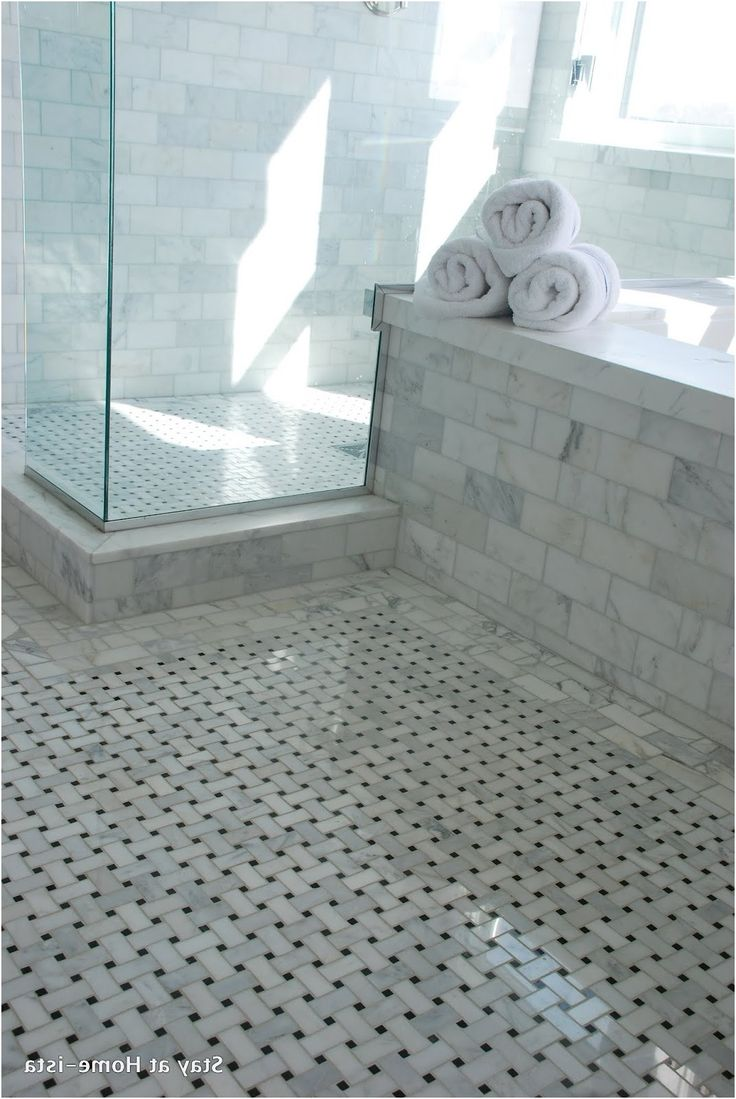 Grey bathroom floor - Grey And White Bathroom Floor Tiles House Tour Modern Eclectic From Black And White Marble Bathroom