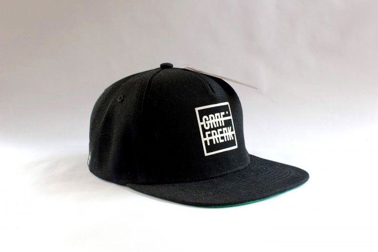 Snapback GRAFFREAK black #graffreak #black #snapback #cap #baseball #men #hat