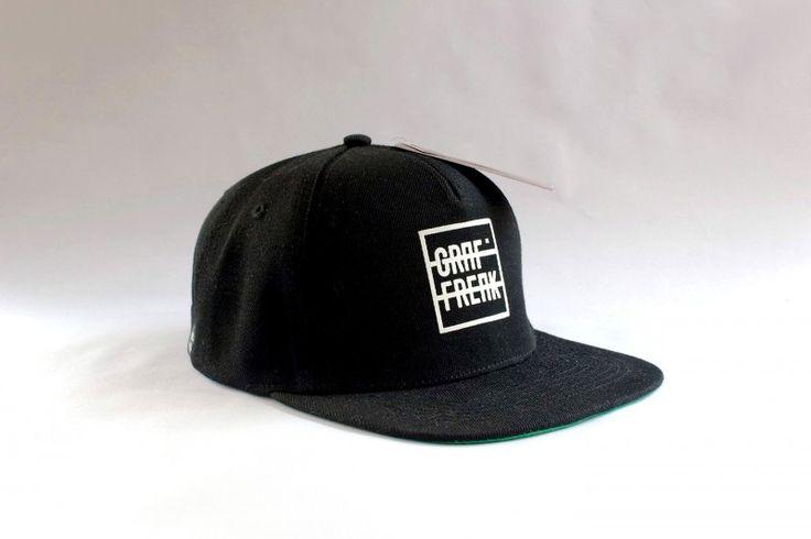 Snapback GRAFFREAK black #graffreak #black #snapback #cap #baseball #men #hat