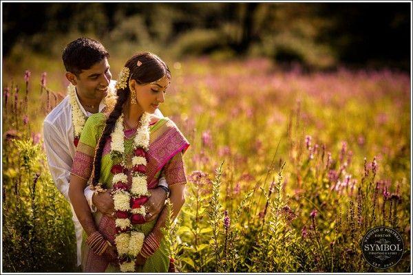 South Indian Wedding: Anjali and Arun in Massachusetts #shaadibazaar