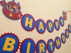 Little Einsteins birthday Banner Little Einsteins by NiuDesigns