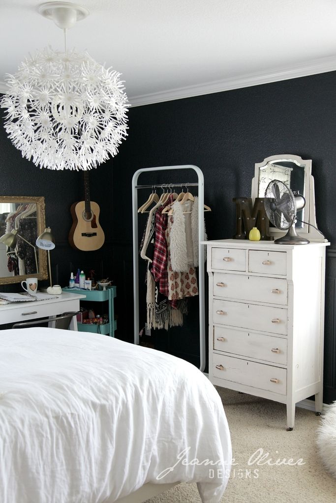 Teen girl bedroom makeover jeanne oliver home decor - Super cute teenage girls room ...