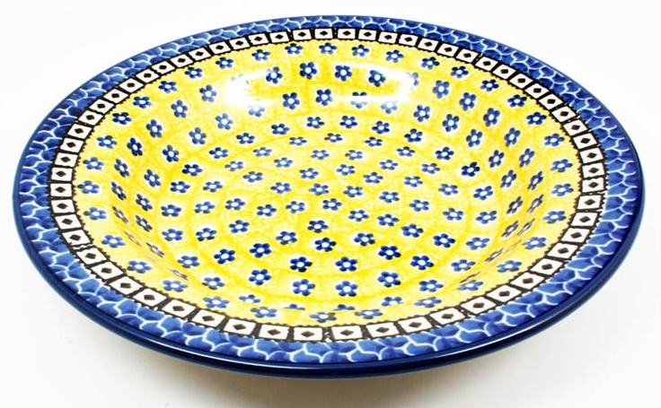 Quality 1 Guaranteed from the Renowned Ceramika Artystyczna   Hand Painted and Stamped by Highly Skilled Artisans   Polish Pottery is Oven, Microwave, and Dishwasher Safe!   Crack and Chip Resistant   Lead and Cadmium Free--Safe for Everyday Use