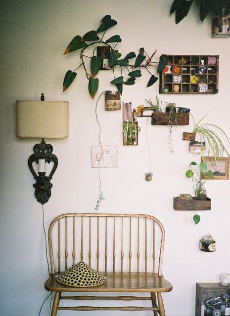 Curated Greenery Wall