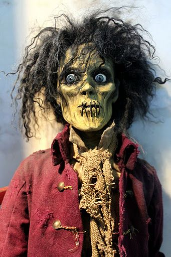 """billy"" from Hocus Pocus created by William Bezek. Awesome creepy creativity!!"