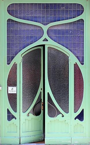 Art Nouveau Barcelona door