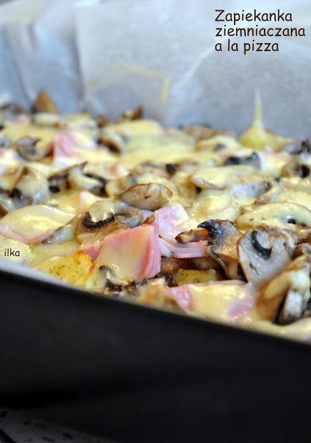 In my coffee kitchen: Zapiekanka ziemniaczana a la pizza
