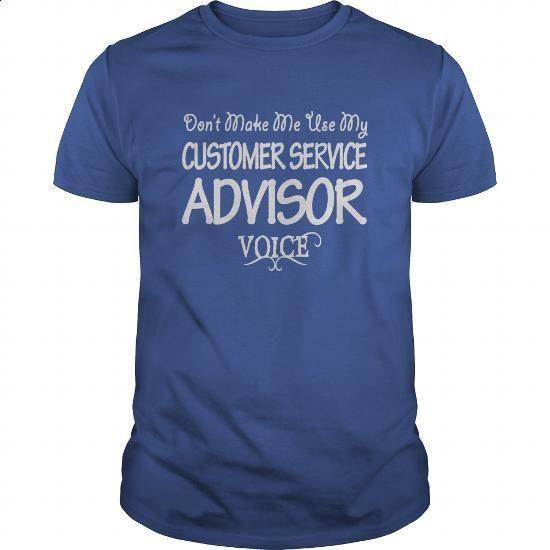 Customer Service Advisor Voice Shirts #hoodie #Tshirt. I WANT THIS => https://www.sunfrog.com/Jobs/Customer-Service-Advisor-Voice-Shirts-Royal-Blue-Guys.html?id=60505