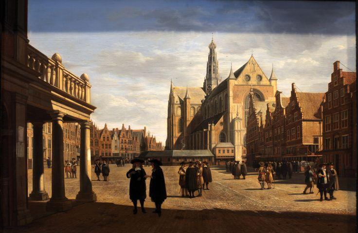 File:Marketplace in Haarlem-Gerrit Adriaensz Berckheyde-MBA Lyon B446-IMG 0427.jpg