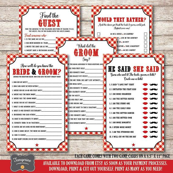 63 best i do bbq wedding shower rehearsal dinner images on i do bbq couples shower games package bundle 5 games bridal shower games printable instant download games bbq shower games pdf files solutioingenieria Gallery