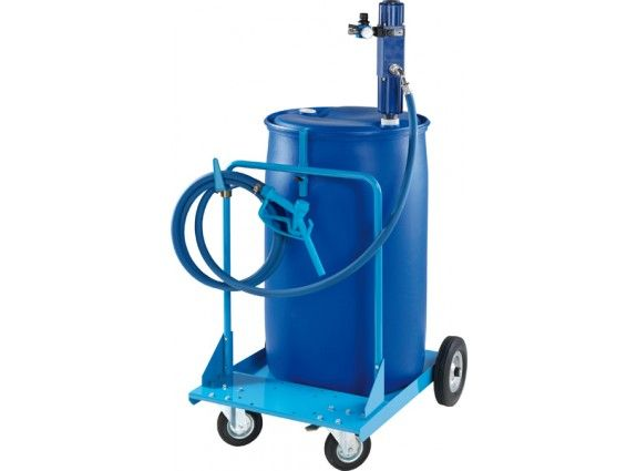 Trolley for plastic drums