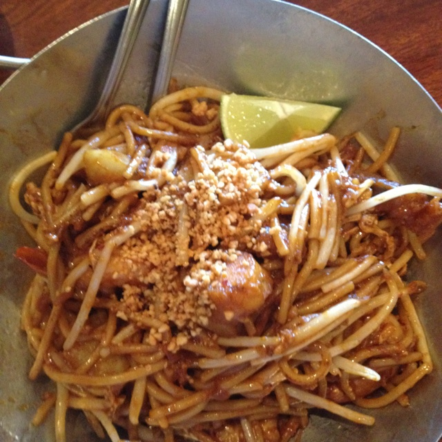 Indian fried noodles @ Island Malaysian Cuisine