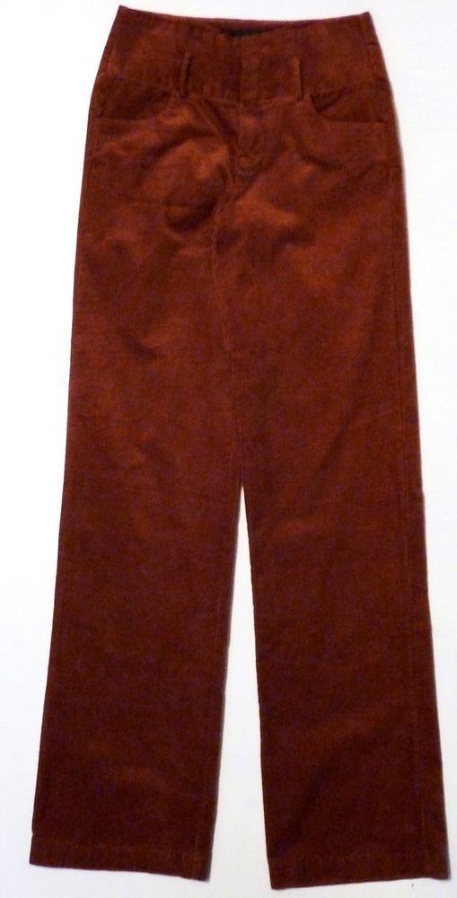 ZARA Trf 1970s Woman TAN Corduroy Wide Leg Pants Cords Trousers XS S M L £29.99 | eBay