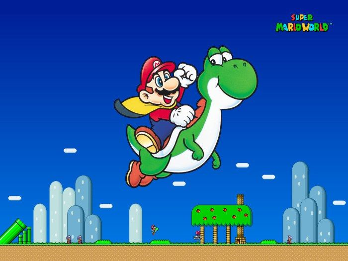 Play Super Mario World online Free Here