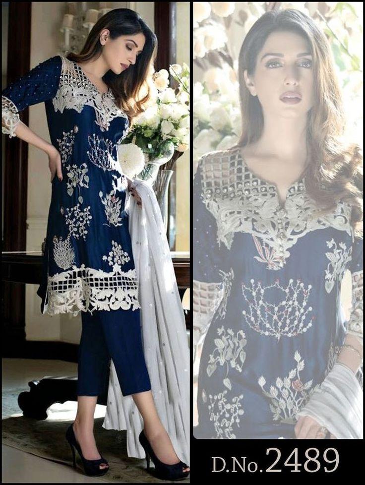 Salwar Bollywood Anarkali Indian Designer Suit Kameez Ethnic Pakistani Dress New #TanishiFashion