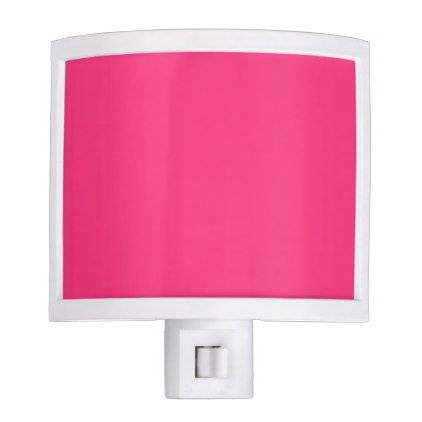 Neon Pink Night Light - pink gifts style ideas cyo unique
