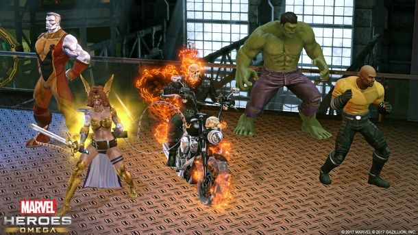 Marvel Heroes Assemble For Console MMO - Marvel Heroes Omega - PlayStation 4